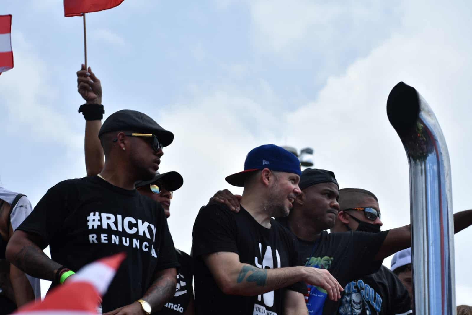 Artistas puertorriqueños se unen al pueblo en el Paro Nacional