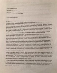 Administración Central ordena sanción ante administrativos de UPR en Cayey